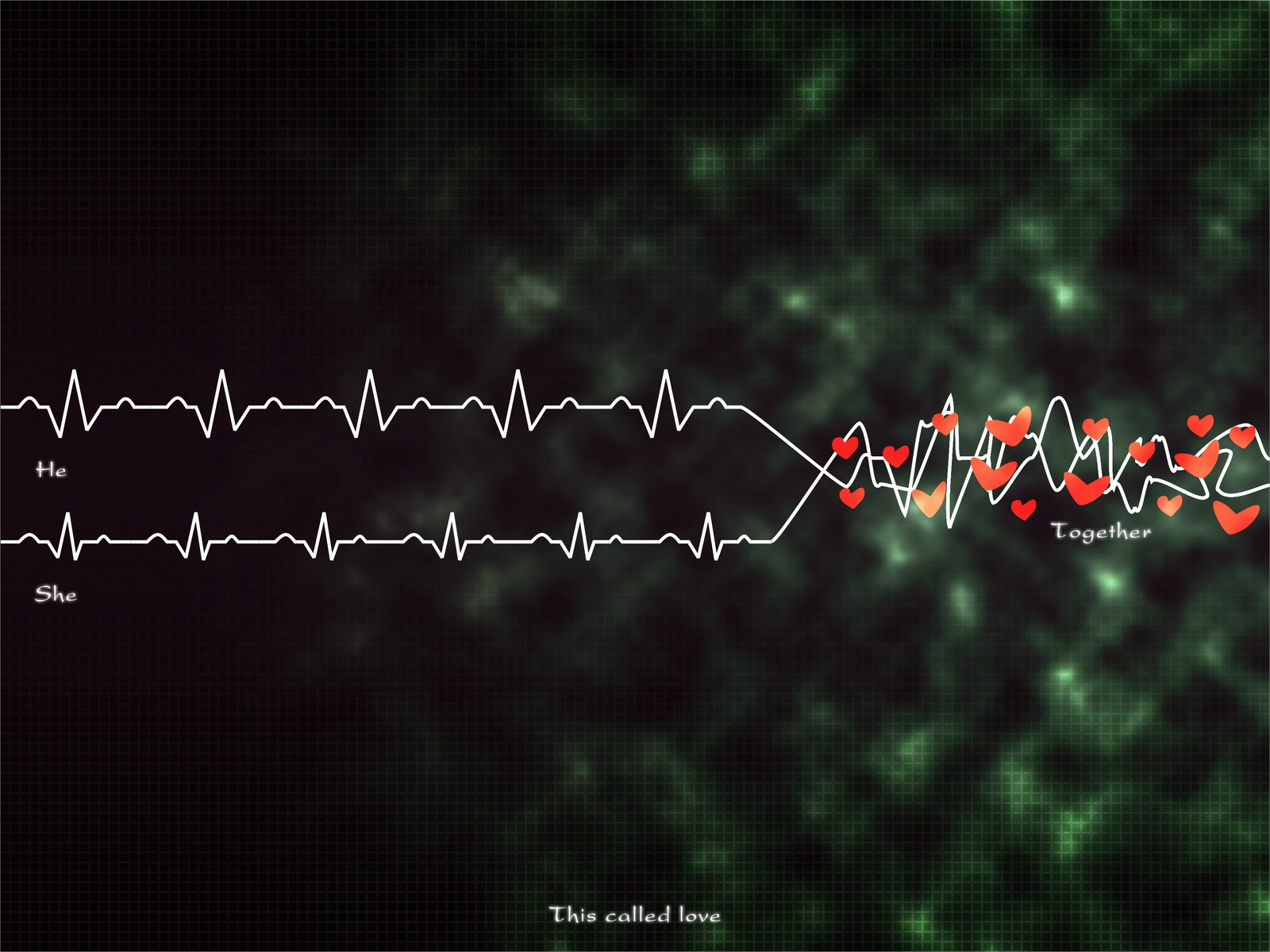 wallpaper, rhythm, heart, plexus wallpaper, background