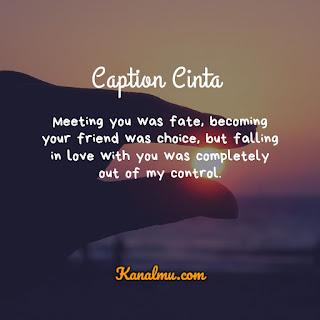 Caption Cinta Bahasa Inggris