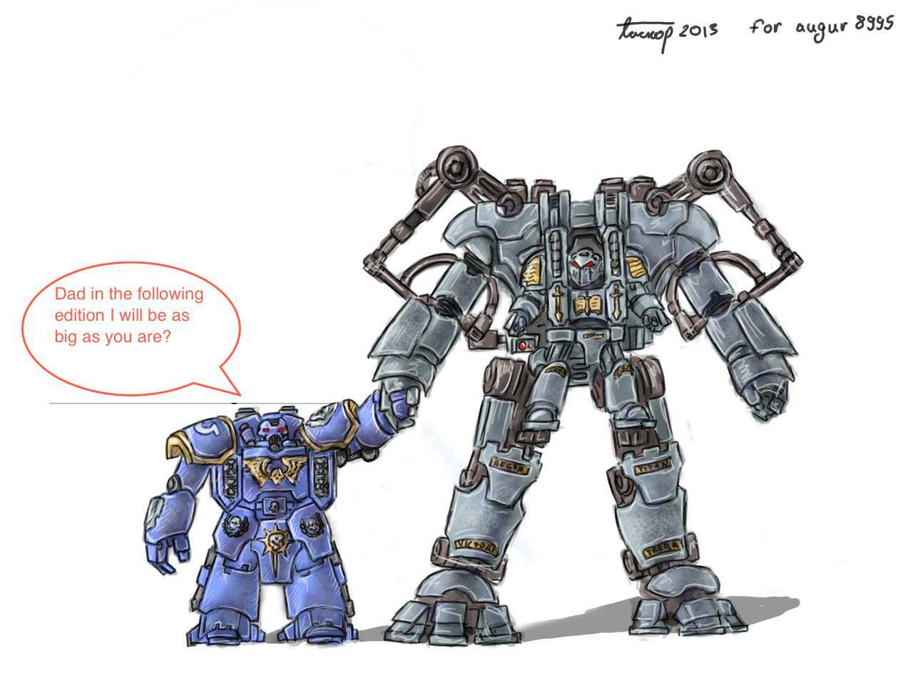 Warhammer 40K: Adeptus Canardplus - Oui, les Space Marines