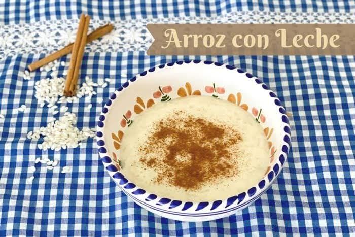 Arroz dcon Leche スペインの伝統お米スイーツのアロス・コン・レチェ