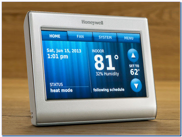 New honeywell wifi smart thermostat rth9580wf