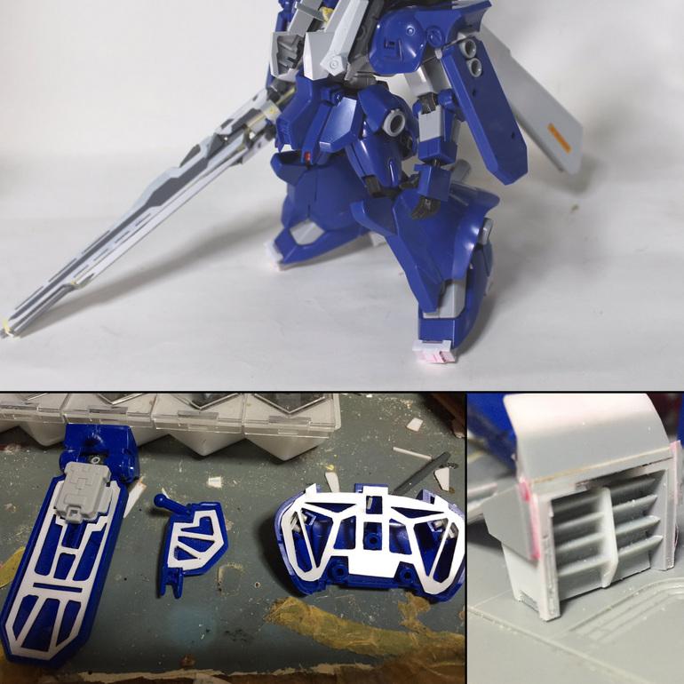 Custom Build: HGUC 1/144 RMS-141 Xeku Eins TR-X [Cowslop]