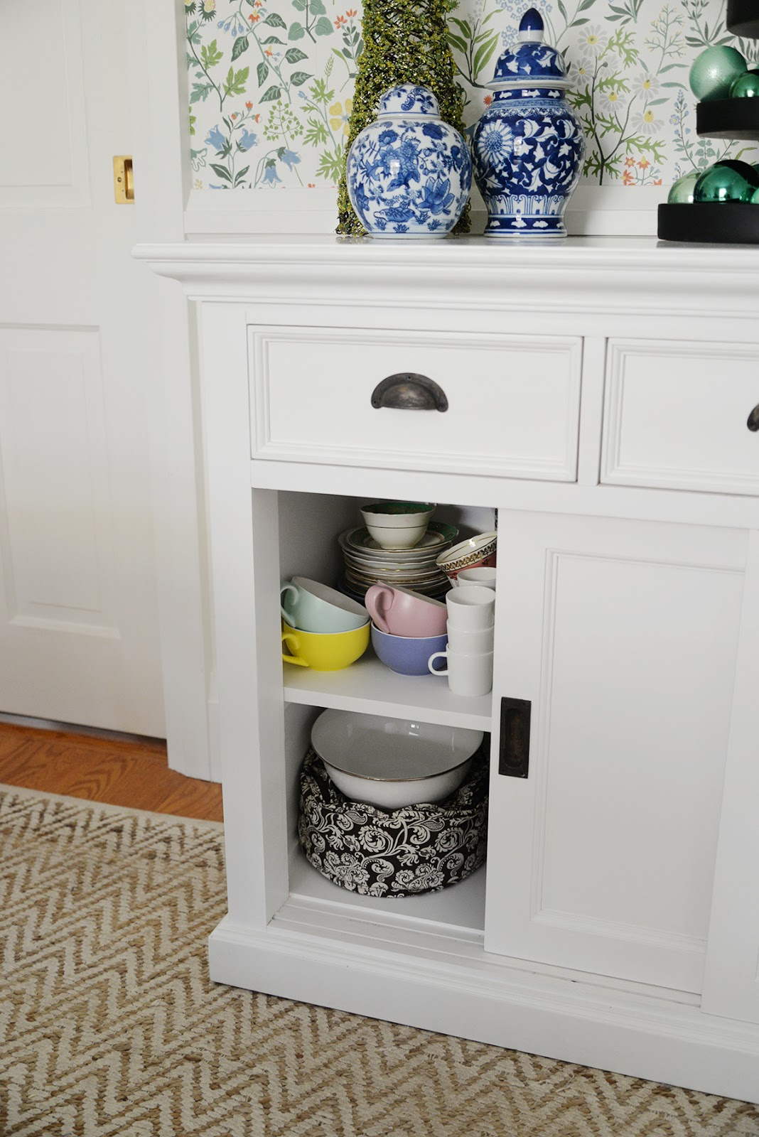 dining room cupboard storage | A Dining Room Storage Cabinet - Rambling Renovators