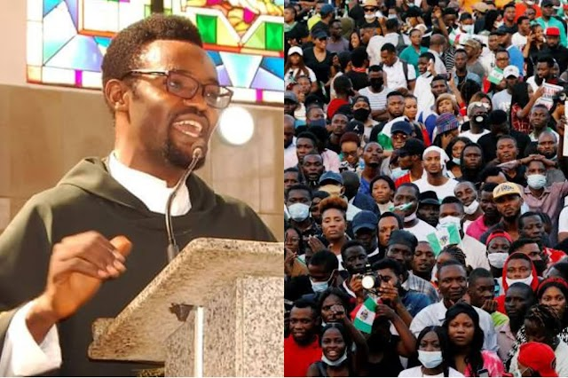 """#June12Protest: """"Stay In Your House And Sleep"""", Catholic Priest Tells Nigerians"""