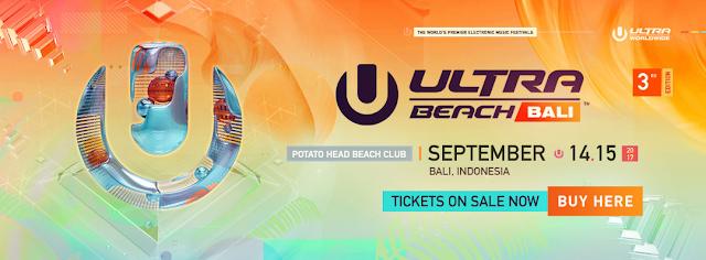 ultra beach bali 2017