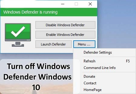 How To Turn Off Windows Defender In Microsoft Windows 10?