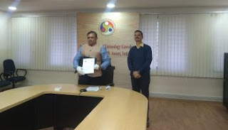 IIT Guwahati Signed MoU with NFR