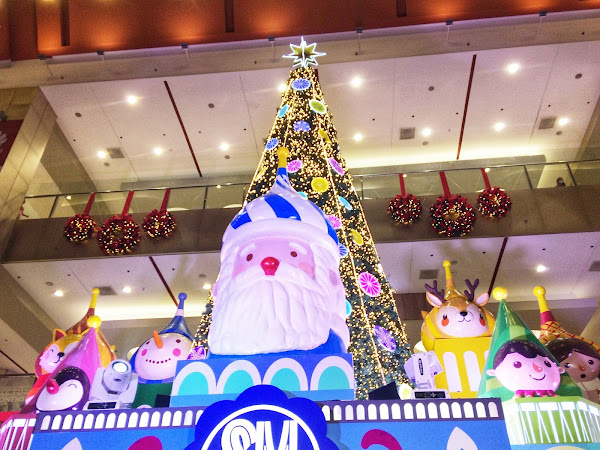 SM City Marikina Sparkly Jolly Christmas #SparklingSMallidays