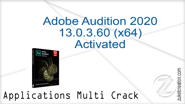 Adobe Audition 2020 13.0.3.60 (x64) Activated