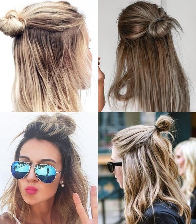 Hey Anny!: Hair Trends: Half Bun (Coque Samurai ou Meio Coque)