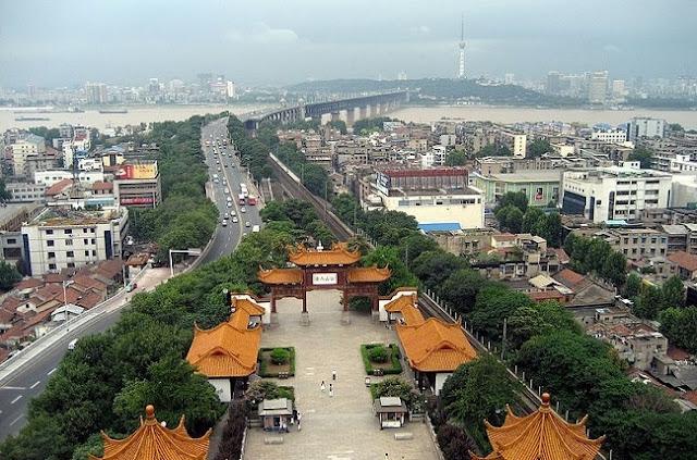 Kota Wuhan, China