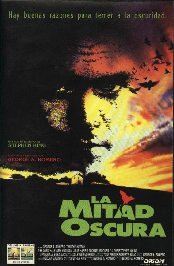 La mitad oscura, Stephen King, George A. Romero, Timothy Hutton