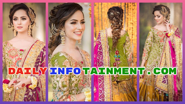 Awesome Mehndi Photoshoot of Nimra Khan