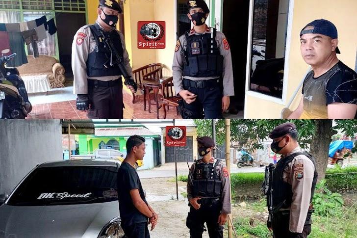 Satuan Sabhara Polres Takalar Gelar Patroli dan Pendisiplinan Prokes