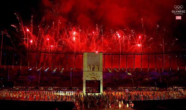 Vidéo. Jeux africains : une cérémonie d'ouverture digne de l'Afrique