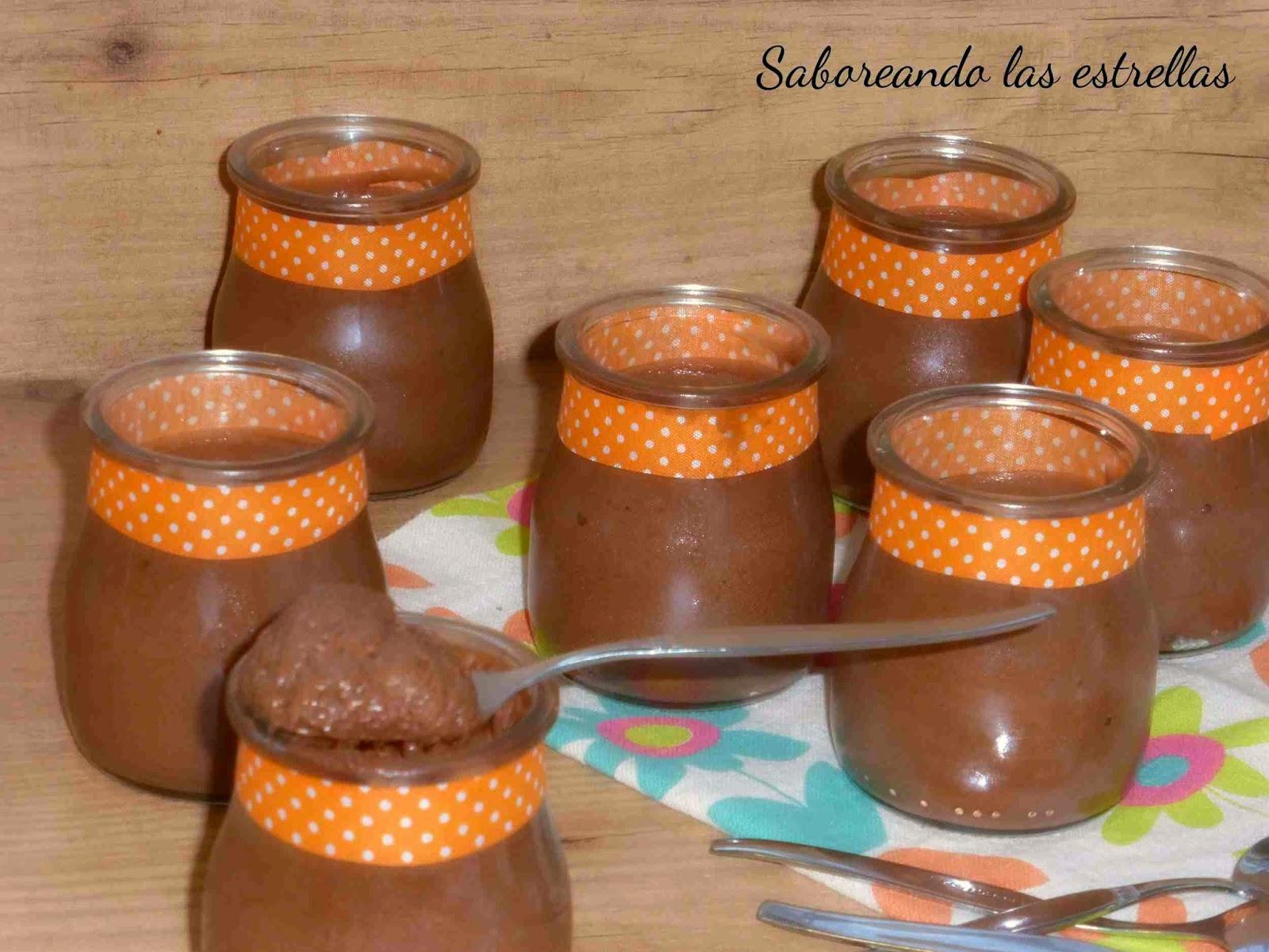 Mousse de chocolate negro - Mousse au chocolat