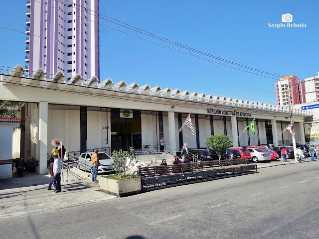 Vista ampla do Mercado Municipal do Ipiranga - São Paulo