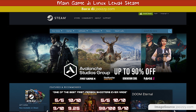 Game Steam Linux Ubuntu