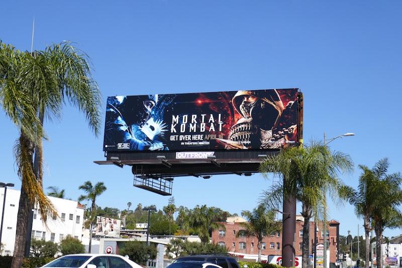 Mortal Kombat 2021 billboard