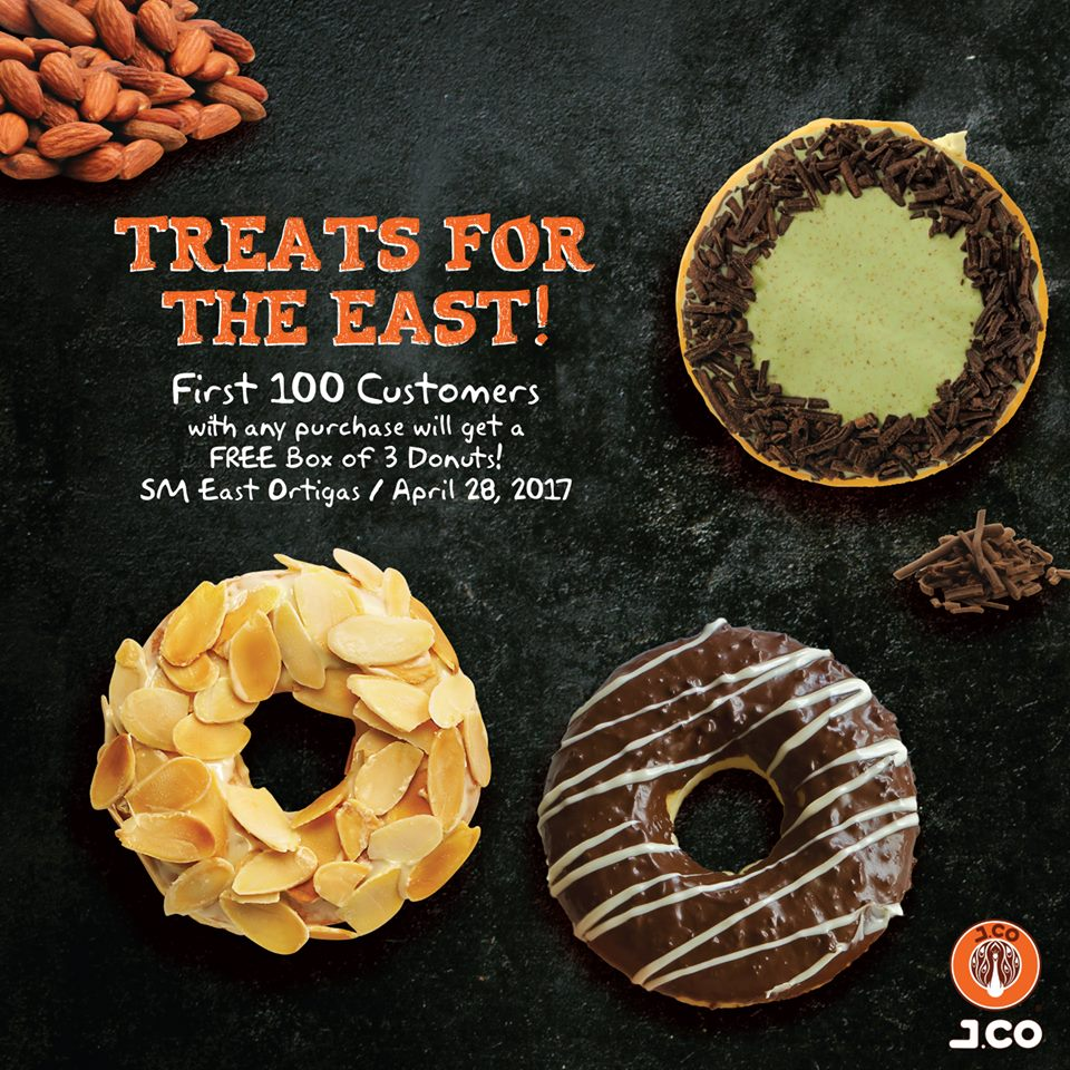Manila Shopper: J.Co Treats for The East Store Opening ...