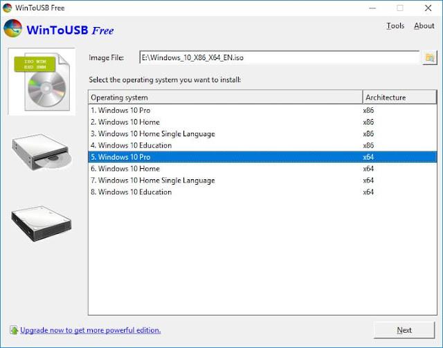 تحميل Win To USB برنامج تثبيت الويندوز من الفلاش ميمورى 2020