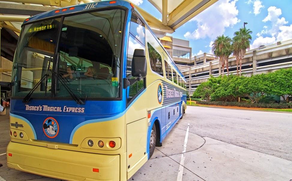 Disney Magical Express Onibus Orlando