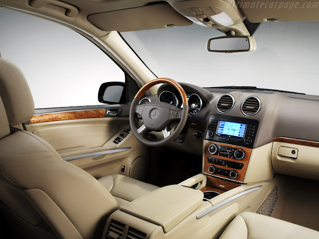 Interior de Mercedes Benz GL 500