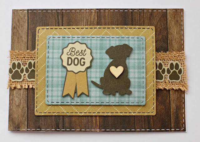 Kaisercraft Pawfect Card by Alicia McNamara