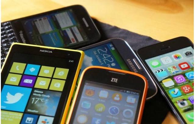 Roubo de celular cresce em 2016