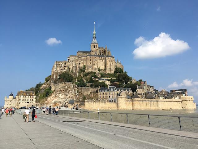 Mont Saint-Michel - França - Normandia, Bretanha, castelo, monte, abadia