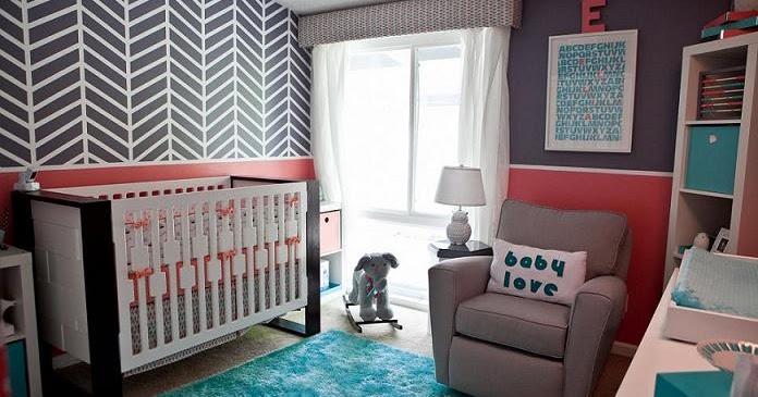Custom Nursery Art By Kimberly Modern Baby Girl Nursery Ideas