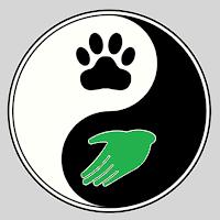 Yin en yang mens en dier