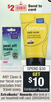 Clean & Clear CVS Deal $1.06  6-23 6-29