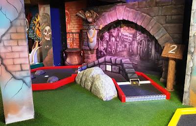 'Harry Putter' at Trailer Trash Jim's Crazy Golf at Level Preston
