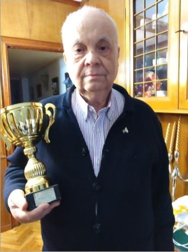 Jaume Anguera Maestro, Subcampeón de España de veteranos-2018