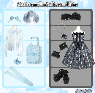 improved outfits, horror candy shop, sweet lolita kawaii, cute, mintyfrills