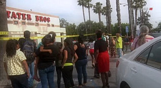 Man Shot Dead Inside Supermarket San Bernardino; Wanted suspects