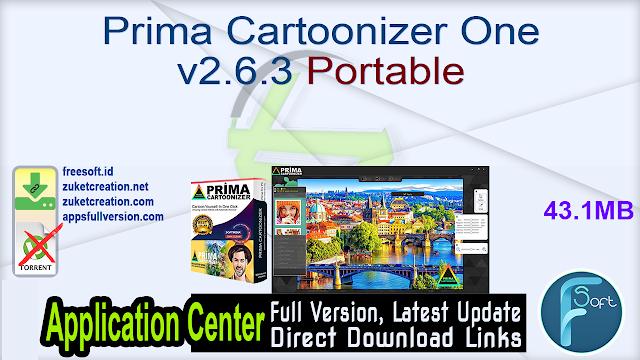 Prima Cartoonizer One v2.6.3 Portable