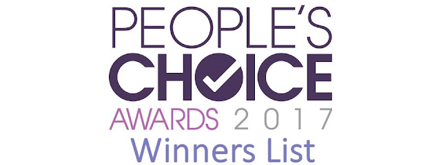 People's Choice Awards 2017 Complete Winners List