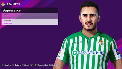 PES 2020 Faces Juanmi Jiménez by Rachmad ABs