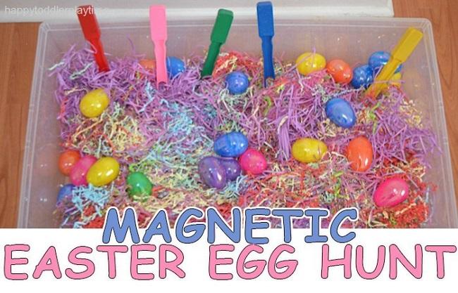 magnetic easter egg hunt