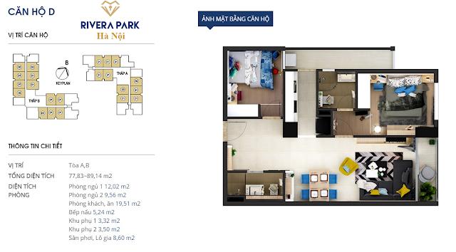 Chi tiết căn hộ D Rivera Park