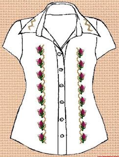 Заготовка для вишивки жіночої сорочки без рукавів (СЖБР-001)  Екстравагантна шипшина 5356d2cfe7975