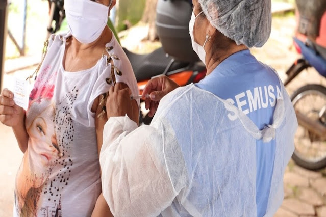 Porto Velho começa aplicação da 2ª dose da vacina contra Covid-19 em profissionais da saúde