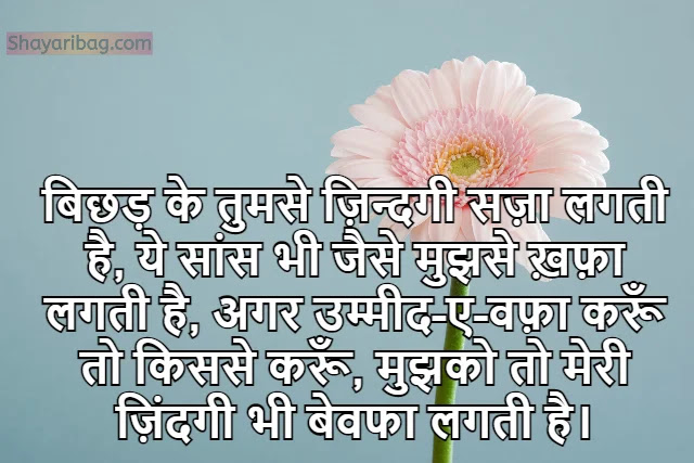 Sad Love Shayari in Hindi For Whatsapp