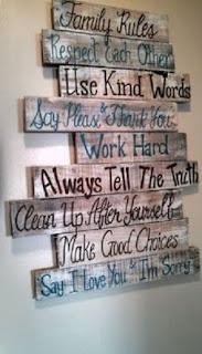 افكار خشبية بسيطة
