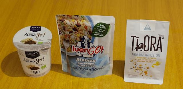 Porridge Avena Go con Cacao y Baobab