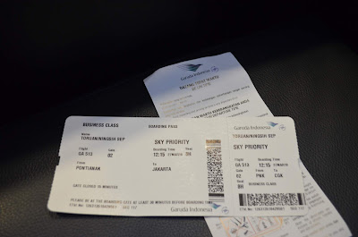 SEPOK! Pulang Pergi Jakarta Naik Kelas Bisnis Garuda Indonesia, business class garuda indonesia