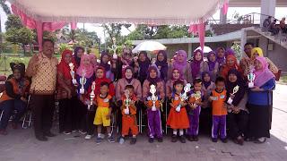Pemenang Lomba Hari Anak Nasional  TK,PAUD Se-Kota Prabumulih