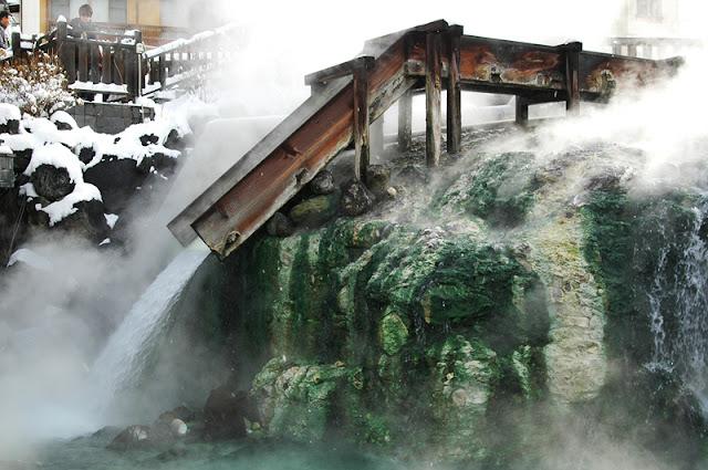 일본내 최고의 온천 쿠사츠온천